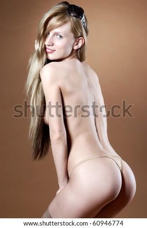 beautiful erotic - stock photo