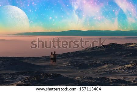 Beautiful Evening - stock photo