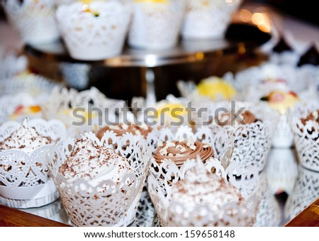 Beautiful event decoration for various celebration style - stock photo