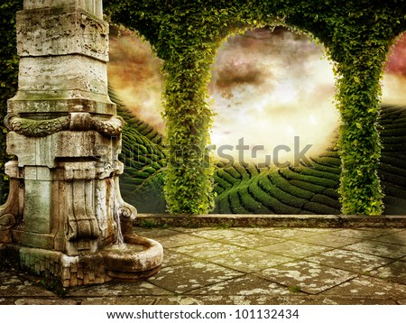 Real Fairytale Landscapes Fairy-tale Stock Photo...