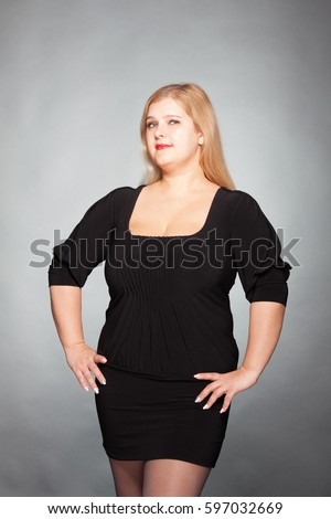 short fat woman nude