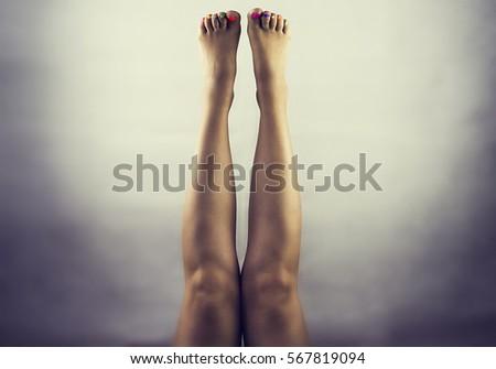 chân nữ xinh đẹp