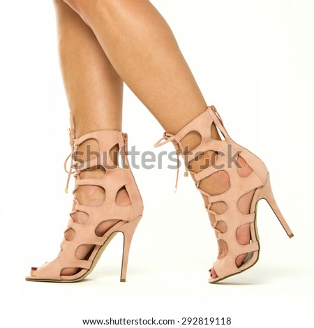Strappy Sandals Stock Photos, Royalty-Free Images & Vectors ...