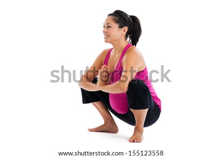 Woman Squatting Stock Images Royalty Free Images
