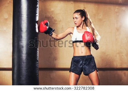 Nice video. female boxing domination