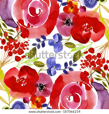 Beautiful floral background, suitable for product design or greeting cards - stock photo