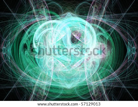 Beautiful fractal background