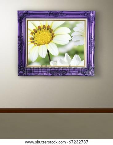 Beautiful frame - stock photo