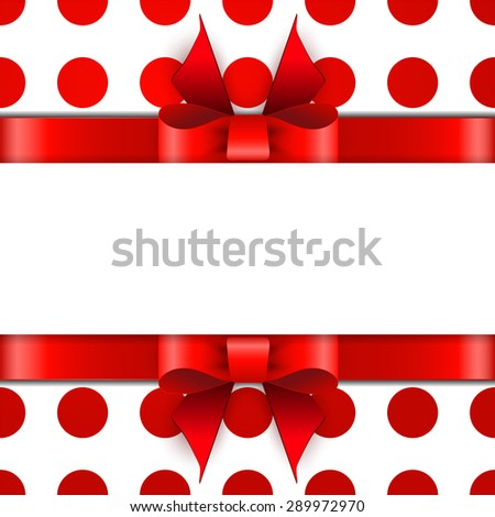 Beautiful gift background with space for text - stock photo