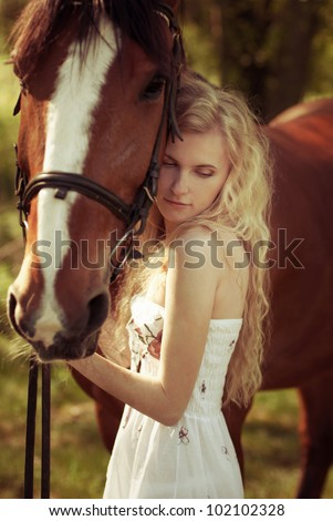 Horse Hug Stock Images Royalty Free Images Amp Vectors