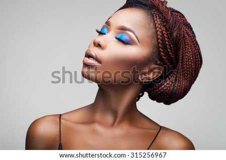 Sensational African Braids Stock Images Royalty Free Images Vectors Hairstyles For Women Draintrainus