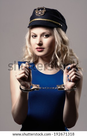Woman Handcuffs Stock Images Royalty Free Images
