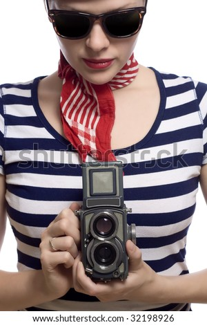 Stock images royalty free images vectors shutterstock for French striped shirt and beret