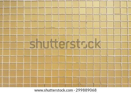 Beautiful Gold Crystal tiles texture - stock photo