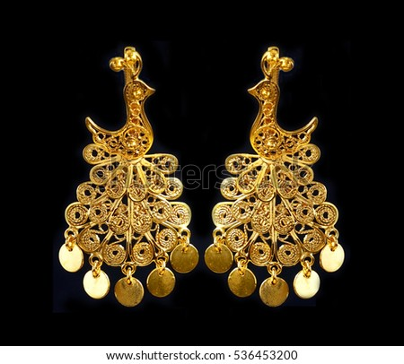gold and earrings women bali beautiful earring