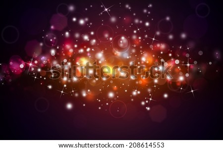 beautiful golden festive background