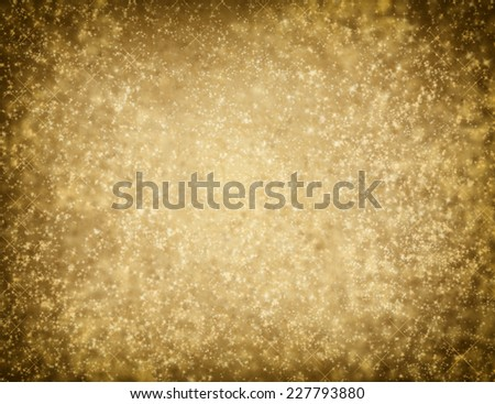 Beautiful Golden glittering background. Decoration. Backdrop. Merry Christmas. Holiday Gold abstract texture - stock photo