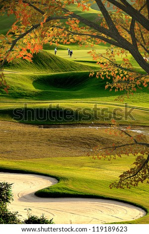 Beautiful Golf Course for adv or others purpose use