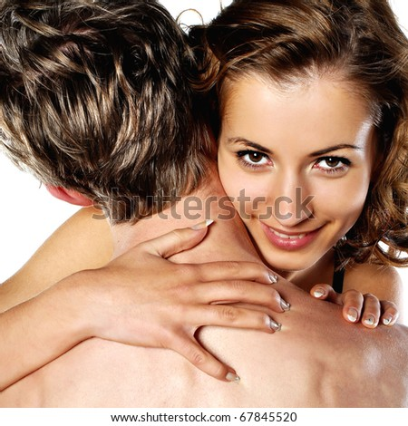 beautiful heterosexual - stock photo