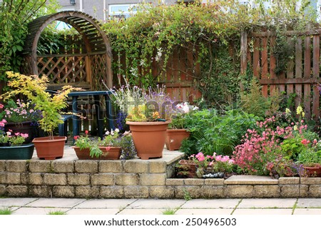 Garden Design Stock Images, Royalty-Free Images & Vectors
