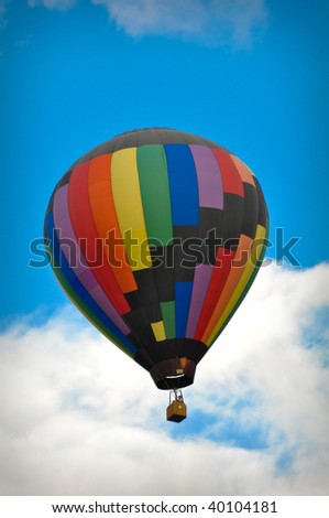 Beautiful Hot Air Balloons soaring into the sky