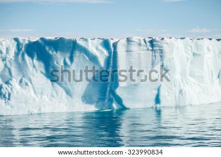 beautiful iceberg in Arctic - stock photo