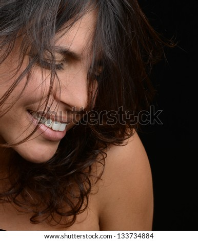 Beautiful Image of a Latino Woman - stock photo