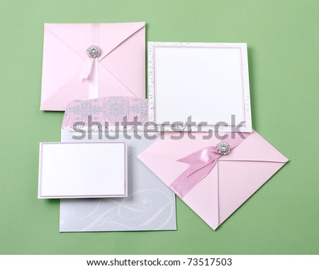Beautiful invitation cards for your choice