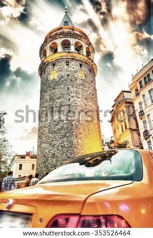 Beautiful Istanbul cityscape. - stock photo