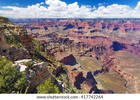 Beautiful landscape of Grand Canyon National Park, Arizona, USA - stock photo