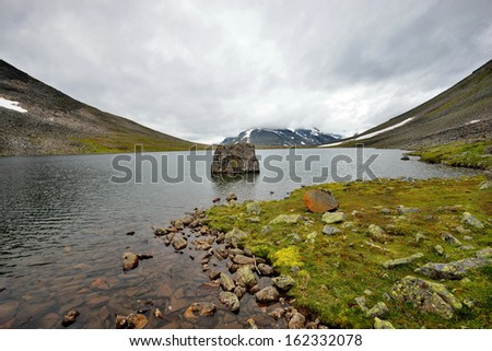 Beautiful landscape of Norway, Scandinavia - stock photo