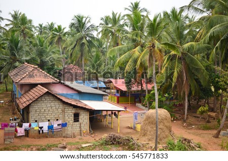 India Village Landscape Stock Images Royalty Free Images