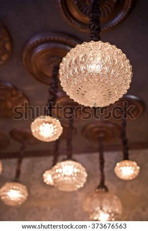 Beautiful Lighting Vintage Decor
