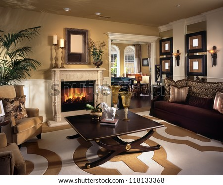 Beautiful Living Room Architecture Stock Images, Photos Of Living Room,  Dining Room, Bathroom Part 62