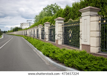 Boundary Wall Stock Images, Royalty-Free Images & Vectors ...