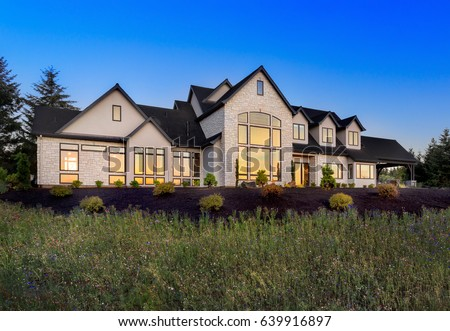 Luxury Home Exterior Stock Images Royalty Free Images Vectors