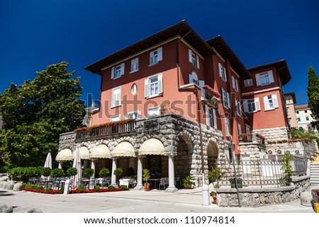 Beautiful Luxury Villa in Optija, Kvarner, Croatia - stock photo