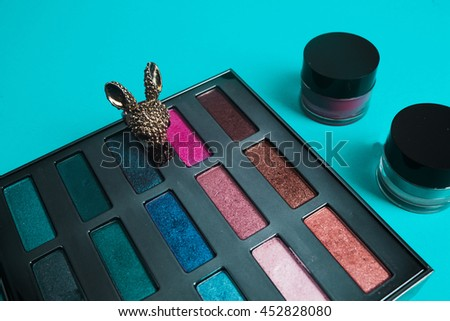 Beautiful make up  - stock photo