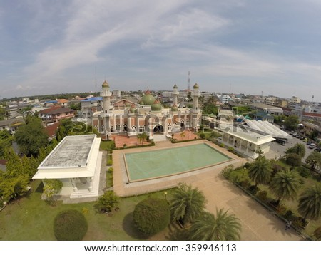 Beautiful mosque in Thailand