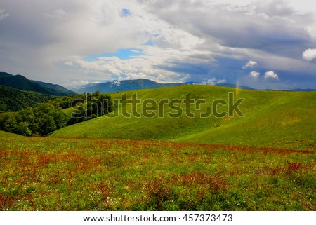 Beautiful mountain landscape