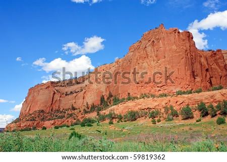 Beautiful mountains - stock photo