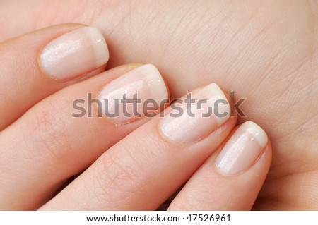Beautiful nails - stock photo