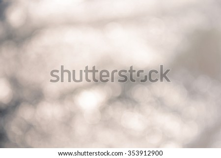 Beautiful natural background with bokeh lights  - stock photo