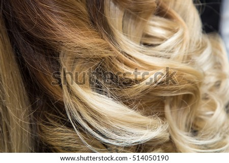 Beautiful Natural Hair. Hairdressing. Wave