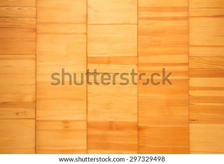Beautiful natural light brown wood texture, can be used like a background - stock photo
