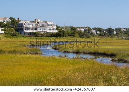 Beautiful nature of the cape Cod, MA, USA