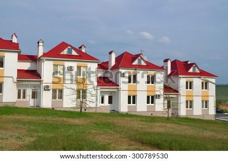 Beautiful new house  - stock photo