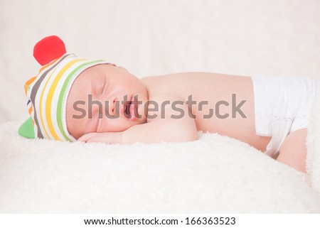 beautiful  newborn baby