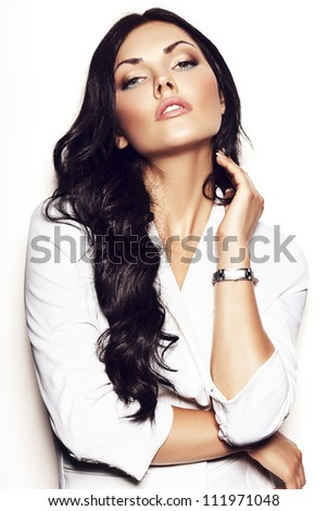 Beautiful Nika - stock photo