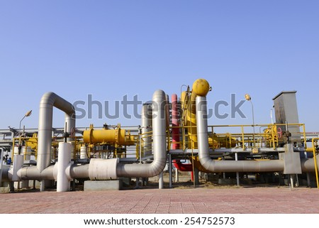 Beautiful oil pipeline